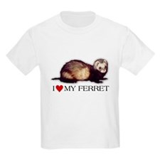 I love my ferret T-Shirt