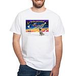 XmasSunrise/Mastiff #3 White T-Shirt