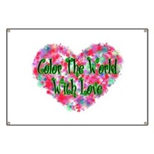 Color The World Banner