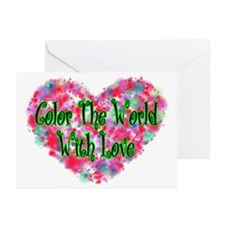 Color The World Greeting Cards (Pk of 10)