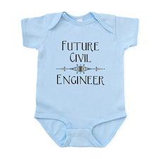 Future Civil Engineer Infant Bodysuit