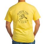 Screw Caribou Yellow T-Shirt