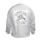 Screw Caribou Kids Sweatshirt