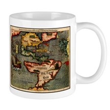 Map of the Americas Mug