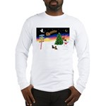 XmasSigns/2 Dachshunds Long Sleeve T-Shirt