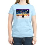 XmasSunrise/Shar Pei Women's Light T-Shirt