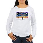 XmasSunrise/Shar Pei Women's Long Sleeve T-Shirt