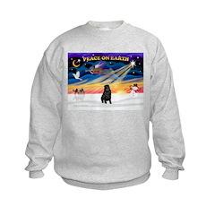 XmasSunrise/Shar Pei Kids Sweatshirt
