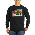XmasMusic2/Shar Pei Long Sleeve Dark T-Shirt