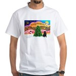 XmasMusic2/Shar Pei White T-Shirt