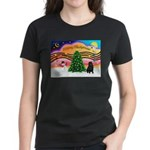 XmasMusic2/Shar Pei Women's Dark T-Shirt