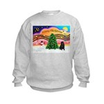 XmasMusic2/Shar Pei Kids Sweatshirt
