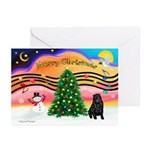 XmasMusic2/Shar Pei Greeting Cards (Pk of 10)