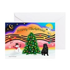 XmasMusic2/Shar Pei Greeting Cards (Pk of 20)