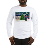 XmasMagic/ Shar Pei Long Sleeve T-Shirt