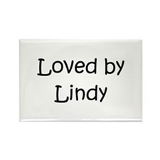 Cute Lindy Rectangle Magnet (100 pack)