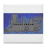 Train Freak Tile Coaster