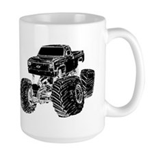 Monster Pickup Truck Mug