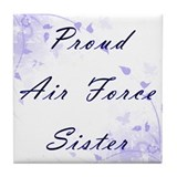 Proud Sister Tile Coaster