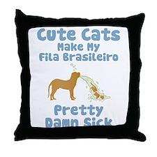Fila Brasileiro Throw Pillow