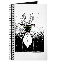 Snow Storm Reindeer Journal