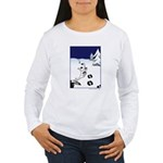 Tracks in the Snow Women's Long Sleeve T-Shirt