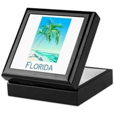 Florida Palms Keepsake Box