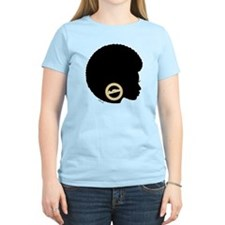 Black Afro Bling T-Shirt
