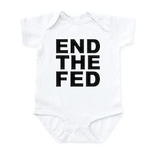 END THE FED Infant Bodysuit