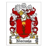 Nieczuja Family Crest Small Poster