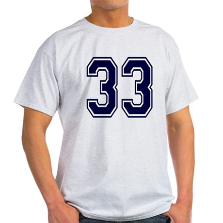 NUMBER 33 FRONT Light T-Shirt