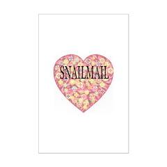 Love Snailmail Mini Poster Print