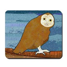 Midnight Owl Mousepad
