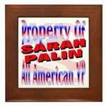 Sarah Framed Tile