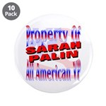 "Sarah 3.5"" Button (10 pack)"