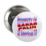 """Sarah 2.25"""" Button"""