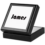 James Keepsake Box