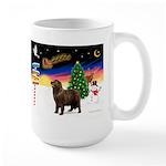 XmasSigns/Newfie Large Mug