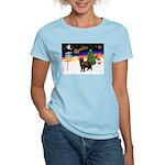 XmasSigns/Newfie Women's Light T-Shirt