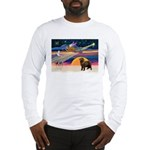 XmasStar/ Newfie Long Sleeve T-Shirt