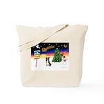 XmasSigns/BorderCollie 4 Tote Bag
