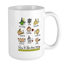The Oz Gang Large Lefty Mug