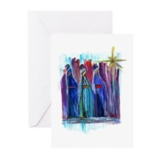 Los Tres Reyes Magos Greeting Cards (Pk of 20)