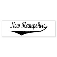 New Hampshire Bumper Bumper Sticker