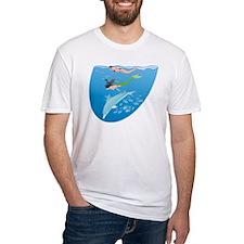 Mermaid, Snorkeler & Dolphin Shirt