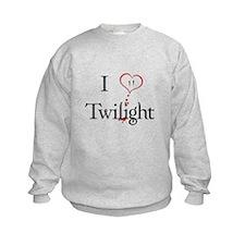 I Love Twilight Kids Sweatshirt