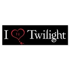 I Love Twilight Bumper Sticker