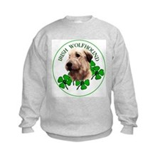 Irish Shamrock WolfHound Sweatshirt