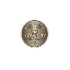 RN Caduceus Mini Button (10 pack)