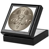 RN Caduceus Keepsake Box